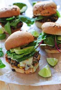 "Yum // ""Chipotle Black Bean Burger"" 