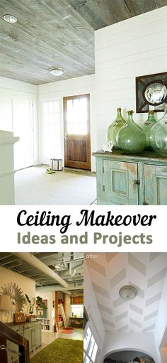 Ceiling Makeover Ideas and Projects