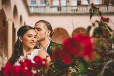 Donia & Franco's Ringling Museum Engagement Session