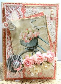 Official blog of MajaDesign | Scrapbooking papers Love the little hat!!