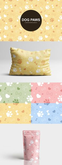 Before you Dog Paws Vector Free Seamless Pattern. Graphics are perfect for those who are engaged in design. You can use them, for example, in creating the design of stationery for schoolchildren Free Vector Patterns, Vector Free, Dog Paws, Your Dog, Stationery, Presents, Create, Dogs, Design
