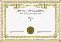 Vector Certificate gold frame, Certificate, Ribbon, Vector Certificate PNG and Vector Certificate Layout, Certificate Background, Certificate Border, Certificate Of Completion Template, Free Certificate Templates, Modele Word, English Conversation Learning, Ribbon Png, Gold