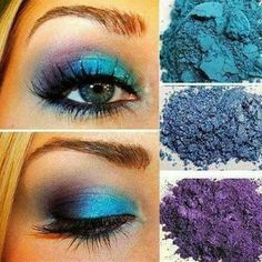 Younique has very vibrant Mineral Pigment Eyeshadows. Shown here, from top to bottom: Heavenly, Awestruck and Regal. This is an eyelook that I would rock! So very pretty! To purchase yours, check out my Link in Bio. #younique #youniqueproducts #youniquepresenter #youniquebeauty #youniquepigments #makeup #beauty #pigments  #eyelook #pretty #igbeauty #igaddict #igdaily