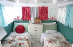 vintage caravan interior - Google Search
