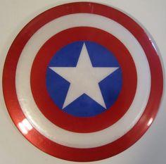 Captain America Frolf Disc!