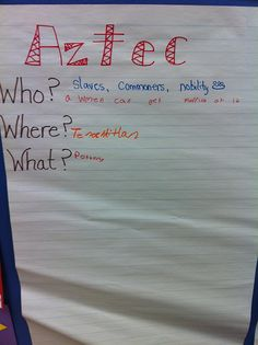 How to use anchor charts in social studies