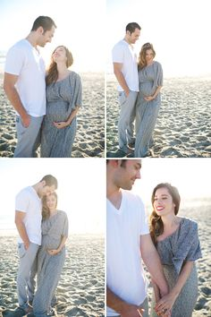 I can't help but love this maternity shoot..in 15 years when I'm pregnant I hope I look this cute!