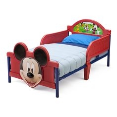 """Disney Mickey Mouse 3D Toddler Bed - Delta - Toys """"R"""" Us"""