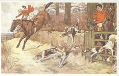 Original colour print by Cecil Aldin.    This is an Original book plate / print removed from a book published in 1990.