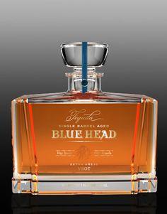 CF Napa Brand Design - Blue Head Tequila - CF Napa
