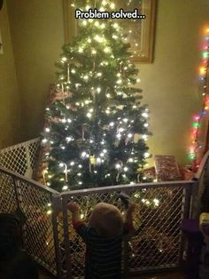 The 10 Best Baby Proof Christmas Tree Ideas Images On Pinterest