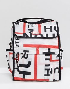 7d70f3a711 Hunter Original Foldable Backpack in Logo Print
