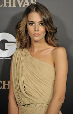 "Spanish model Clara Alonso attends ""GQ Magazine Awards 2010"" at Palace Hotel on November 22, 2010 in Madrid, Spain."