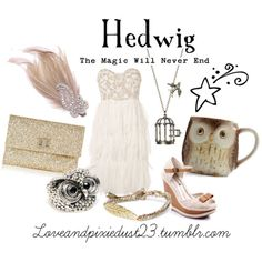 If I had somewhere magical to go, I'd totally where this! Harry Potter Fashion inspiration