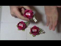 """Tutorial """"BLUME"""" mit Produkten von Stampin' Up! - YouTube"""