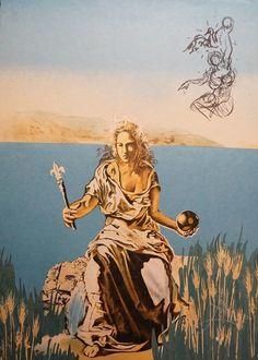 Salvador Dalí, Visions Surrealiste Coronation of Gala, 1976, Fine Art Acquisitions