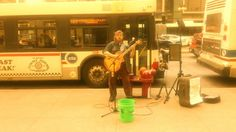 MAH01956/ Crazy Train Cover / @sevasdog  street busking chicago il