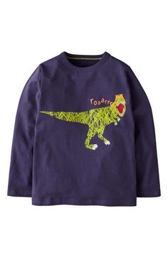 Mini Boden 'Scribble Print' T-Shirt (Toddler Boys) available at #Nordstrom