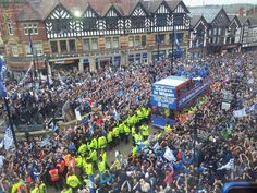 Aerial view of FA Cup Parade Wigan Athletic, Northern England, Northern Soul, Fa Cup, You Are My Sunshine, Aerial View, Our Life, Football, Club