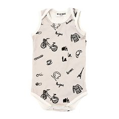 Melted Ice Cream Baby Girl Short Sleeve Bodysuit Organic Coverall 0-24 Months