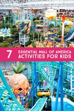 7 Essential Mall of America Activities for Kids | Dotting the Map