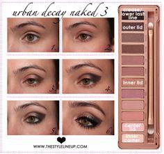 Smoky Eye with Naked 3 Palette