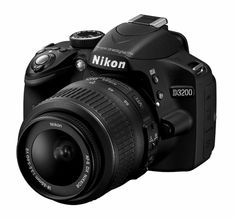 Ladies and gentlemen, I present to you my future camera. The Nikon D3200!!!! I'm going to start choosing her name!