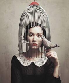Surreal photography by Flora Borsi