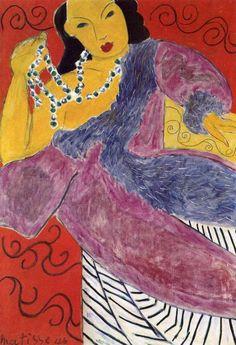 Henri Matisse, Asia