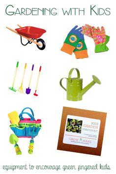 Gardening with kids - equipment for green fingered kids