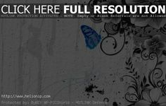 ABSTRACT BUTTERFLY WALLPAPER HD