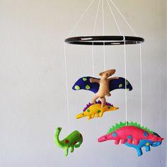 Hanging Dinosaur Baby Mobile