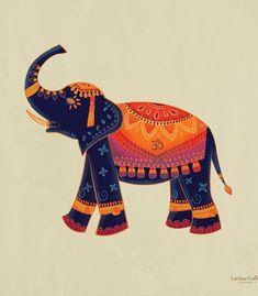 Arte ELEFANTE INDIANO de Larissa Galles | Disponível em camiseta, poster, almofada, caneca, moletom e capinha. Só na @toutsbrasil  #elephants  #indian #yoga #art #artist #mantra #larissagalles Elephant Sketch, Elephant Illustration, Pichwai Paintings, Indian Art Paintings, Madhubani Art, Madhubani Painting, Arte Tribal, Tribal Art, Indian Elephant Art