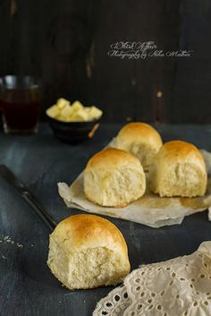Garlic and Rosemary Dinner Rolls - Whisk Affair