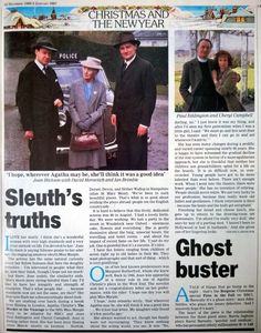 An interview with Joan Hickson. The classic Miss Marple series never gets old!