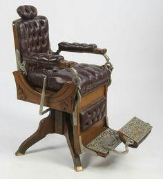 Victorian Barber Chair Barber Equipment, Monster House, Fleet Street, Sweeney Todd, Barber Chair, Tim Burton, Musicals, Victorian, Period Dramas