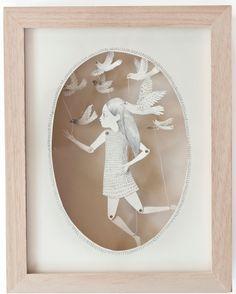 ₪ Paper Art Potpourri ₪  l'enfant mécanique / princesse Cam-Cam via Carnet imaginaire