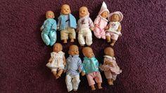 große Mini Baby Born Sammlung9 Puppenverschiedene Kleidung…