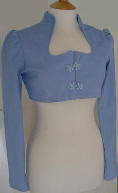 Ladies Regency Spencer jacket / £48.00, via Etsy.