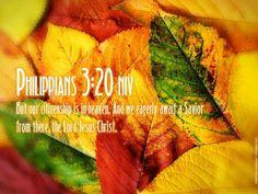 Philippians 3:20