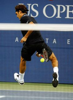 Federer, another legend... and a shot to be remembered at the US Open