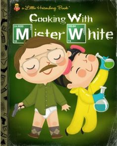 Breaking Bad. Pop Culture Reimagined As Little Golden Books by Joey Spiotto.