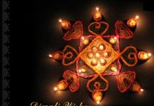 Happy Diwali Greeting cards & Diwali wishes: Diwali / Devali / Deepavali is a festival celebrated in India by decorating their houses with clay diyas and be
