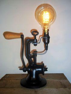 Arc Floor Lamps, Modern Floor Lamps, Recycled Lamp, Repurposed, Lampe Decoration, Pipe Lighting, Steampunk Lamp, Black Table Lamps, Pipe Lamp