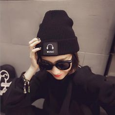 Fashion Cap Women Casual Music Hats Knitted Wool Skullies Beanie Hat Warm Winter Hat for Women #>=#>=#>=#>=#> Click on the pin to check out discount price, color, size, shipping, etc. Save and like it!