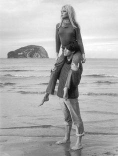 Brigitte Bardot et Laurent Terzieff