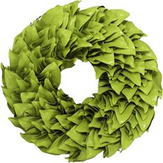 Hello Ernest Hemmingway! This brightly coated magnolia wreath is taking you tropical - all the way to Key West! Hand made of classic magnolia leaves, this dried magnolia will brighten your living space with a splash of spring color. Please allow 3 days for shipping.