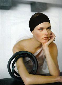 Malgosia Bela by Ruven Afanador for Vogue Paris