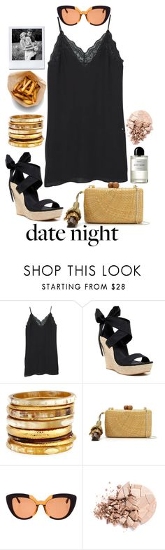 """Summer Date Night"" by johanavigu ❤ liked on Polyvore featuring MANGO, UGG Australia, Ashley Pittman, Serpui, Marni, Anastasia Beverly Hills, Byredo, love, romanticdate and summerdate"