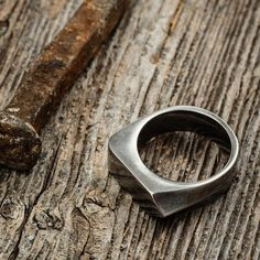 Style up your wardrobe with this trendy ring from Vitaly